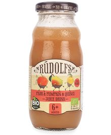 Rudolfs Organic Juice Pear Pumpkin And Quince - 190 ml