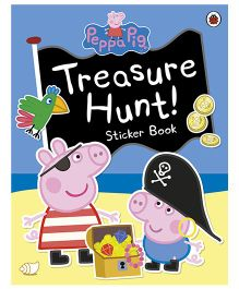 Peppa Pig Treasure Hunt Sticker Book - English