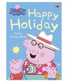Happy Holiday Sticker Activity Book - English