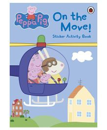 Peppa Pig On the Move Sticker Activity Book - English