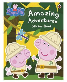 Peppa Pig Amazing Adventures Sticker Book - English