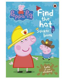 Peppa Pig Find The Hat Sticker Book - English
