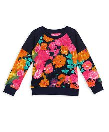 Barbie Full Sleeves Sweater Sequin Work - Multi Color