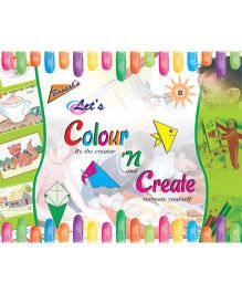 Let's Colour And Create B Book - English