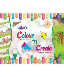Let's Colour And Create C Book - English