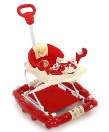 Mee Mee Walker Cum Rocker Monkey Face Design MM-W 913 - Red