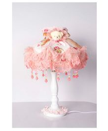 Little Nests Ballerina Light Lamp - Pink