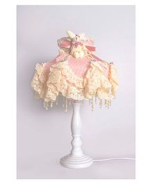 Little Nests Ballerina Light Lamp - Peach