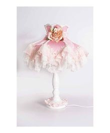 Little Nests Ballerina's Light Lamp Shade - Pink And White