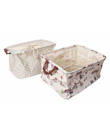 Little Nests Utility Baskets - 2 Assorted Colors