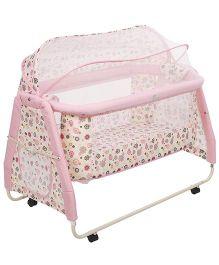 Mee Mee Cradle Cum Bassinet MM-698 - Pink