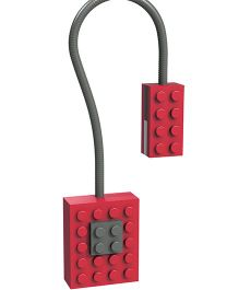 Mufubu Block Light  Neon - Red