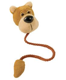 Mufubu Book-Tails Bookmarks Bear Design - Brown