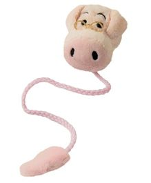 Mufubu Book-Tails Bookmarks Piggy Shape - Pink