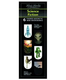 Mufubu Mini-Mark Science Fiction Multicolor - Pack Of 6