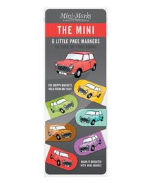 Mufubu The Mini Bookmarks Multicolor - Pack Of 6