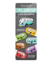 Mufubu The Camper Book Mark - Multicolor