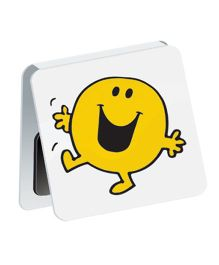 Mufubu Mr Happy Mini Magnetic Bookmarks Yellow - Pack of 5