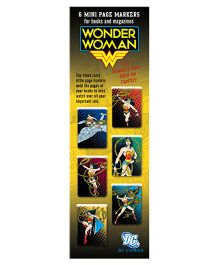 Mufubu WB Mini Page markers DC Wonder Women Multicolor - Pack Of 6