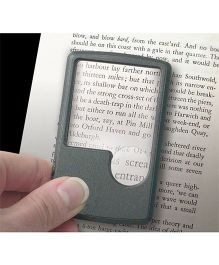 Mufubu Pocket LED Magnifier - Black