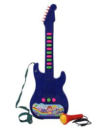 Prasid Musical Guitar Toy With Mic - Blue