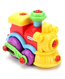 Little Tikes Little Builders Train - Yellow & Red