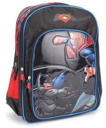 SC Comics Superman Backpack Black - 18 inches