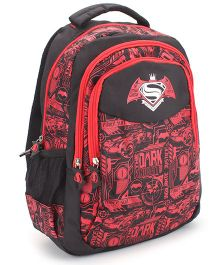 DC Comics SuperMan Teens Ultimate Face Off Backpack - 16 inches