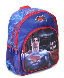 DC Comics Battle For Gotham City Backpack - 14 Inches