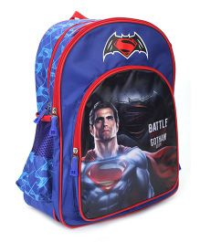 DC Comics Battle For Gotham City Backpack - 16 Inches