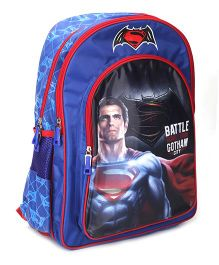 DC Comics Battle For Gotham City Backpack - 18 Inches