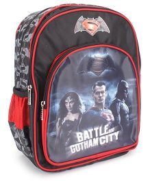 DC Comics SuperMan Hero Legend City Backpack - 14 inches