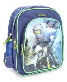 Majorette Flying Wheel School Backpack