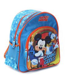 Mickey Mouse and Friends Backpack Gaming Geeks Print - 14 Inches