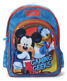 Mickey Mouse and Friends Backpack Gaming Geeks Print - 18 Inches