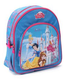 Disney Princess Dreaming Of Sparkles Backpack Blu - 14 inches