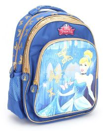 Disney Princess Cinderella Backpack Blue - 14 inches