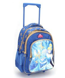 Disney Princess School Trolley Backpack Blue - 16 inches