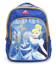 Disney Princess Cinderella Backpack Blue - 18 inches
