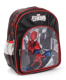 Marvel Spiderman Backpack Black - 14 inches