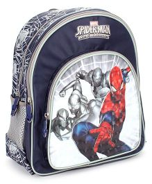 Marvel Spiderman The Shadows School Backpack Navy - 14 inches