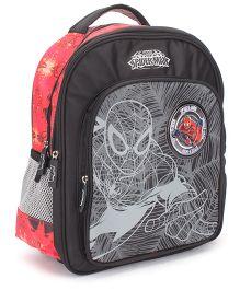 Marvel Spiderman Teens School Backpack Black - 14 inches