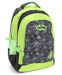 Marvel Spiderman School Teens Backpack Green - 18 inches