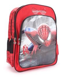 Marvel Spiderman School Backpack Red - 18 inches