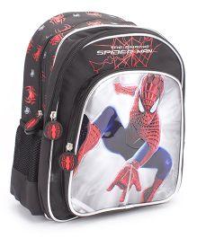 Marvel Spiderman School Backpack Black - 14 inches