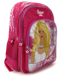 Steffi Love Shinning Star School Backpack Pink - 18 inches