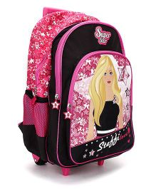Steffi Love Super Star School Trolley Backpack - 18 inches