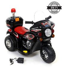 Babyhug Tour A Crusier Rechargeable Battery Operated Rideon - Red and Black