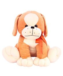 DealBindaas Stuffed Puppy Brown - 40 cm (Colors May Vary)