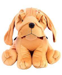 Deal Bindaas Boxer Soft Toy Brown - 25 cm